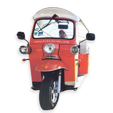 Le tuktuk électrique 6 places