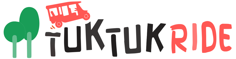 logo horizontal tuktuk ride