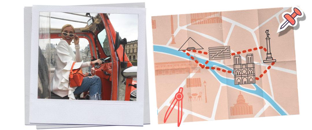 balade dans Paris en tuk-tuk pour les curieux