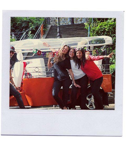 feter son anniversaire en tuktuk à Paris