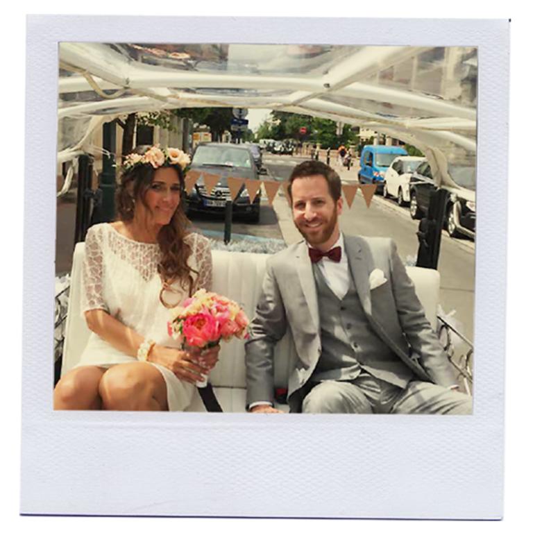 Mariage en tuktuk à Paris