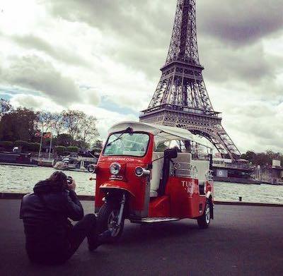 Photographe tuktuk
