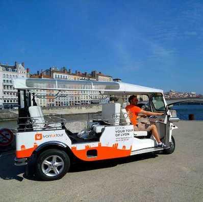Lyon tuktuk