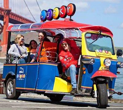 Lucky tuktuk