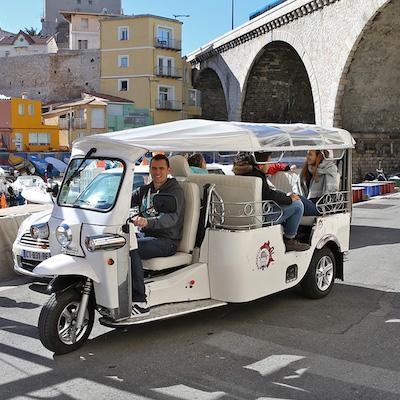 marseille tuktuk