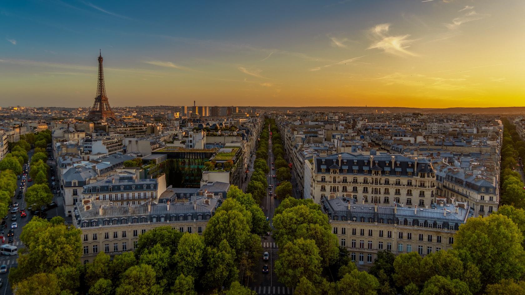PARIS VUE TOUR EIFFEL